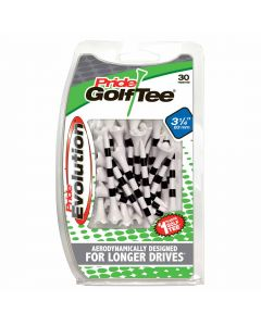 Pride Golf Tee PTS Evolution Striped Golf Tees