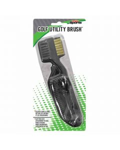 Pride Sports Golf Utility Brush Black