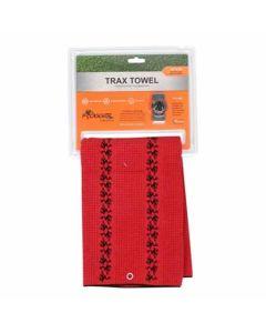 Frogger Golf Trax Towel Grey/Black