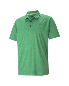 Puma First Mile Flash Polo Amazon Green