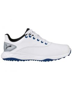 Puma Grip Fusion Golf Shoes White/True Blue