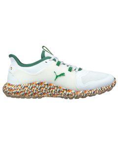 Puma Ignite Fasten8 AP Golf Shoes White/Amazon Green