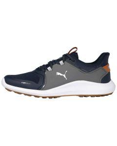 Puma Ignite Fasten8 Golf Shoes Navy Blazer/Silver