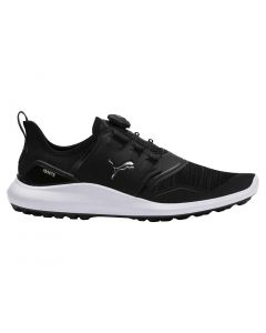 Puma Ignite NXT Disc Golf Shoes Black/Silver