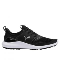 Puma Ignite NXT Lace Golf Shoes Black/Silver