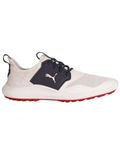 Puma Ignite NXT Golf Shoes White/Silver/Peacoat