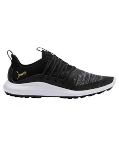 Puma Ignite NXT Solelace Golf Shoes Black/Gold
