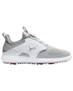 Puma Ignite PWRADAPT Caged Disc Golf Shoes Grey Violet/Silver