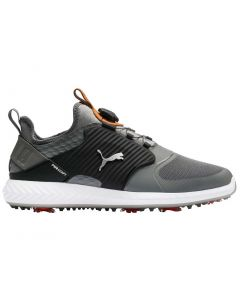 Puma Ignite PWRADAPT Caged Disc Golf Shoes Quiet Shade/Silver