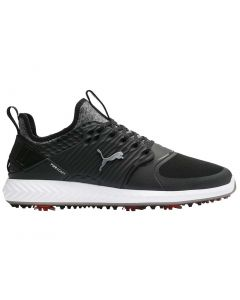 Puma Ignite PWRADAPT Caged Golf Shoes Black/Silver