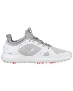 Puma Ignite PWRADAPT Golf Shoes White/Grey Violet