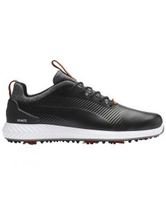Puma Ignite PWRADAPT Leather 2.0 Golf Shoes Black