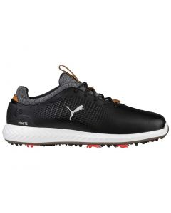 Puma Ignite PWRADAPT Leather Golf Shoes Black