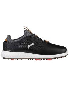 Puma Ignite PWRADAPT Leather Golf Shoes Black