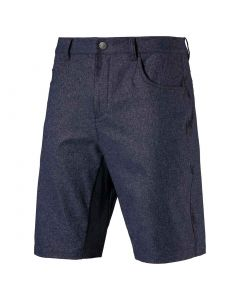 Puma Jackpot 5-Pocket Heather Shorts Peacoat