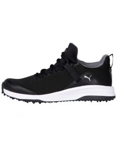 Puma Juniors Grip Fusion EVO Golf Shoes Black