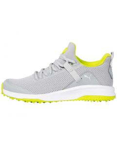 Puma Juniors Grip Fusion EVO Golf Shoes High Rise/Lime Punch