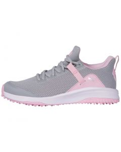 Puma Juniors Grip Fusion EVO Golf Shoes High Rise/Pink Lady