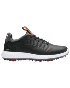 Puma Juniors Ignite PWRADAPT 2.0 Golf Shoes Black