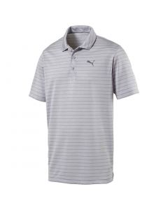 Puma Rotation Stripe Polo Quarry