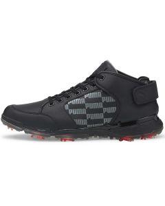 Puma Proadapt Delta Mids Golf Shoes Black Profile