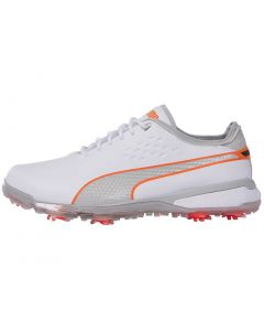 Puma Proadapt Golf Shoes White Grey Violet Profile