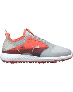 Puma Ignite PWRADAPT Caged Palms LE Golf Shoes Grey/Sunset