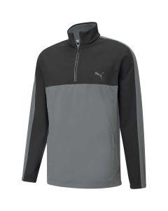 Puma Riverwalk Wind Jacket Black Quiet Shade