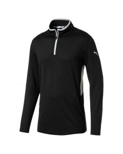 Puma Rotation Quarter-Zip Pullover Black