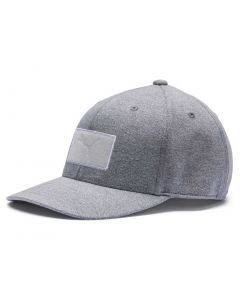 Puma Utility Patch 110 Snapback Hat Quarry