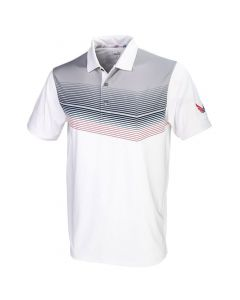 Puma Volition Road Map Polo White/Grey