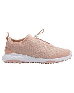 Puma Women's Brea Fusion Sport Golf Shoes Cameo Rose/White