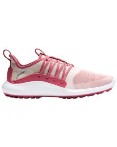 Puma Women's Ignite NXT Solelace Golf Shoes Rapture Rose/Silver