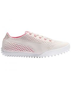 Puma Women's Monolite Cat EM Golf Shoes Rosewater/Rapture Rose