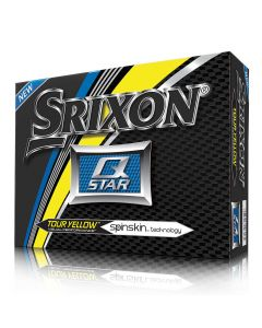 Srixon Q-Star 4 Yellow Golf Balls