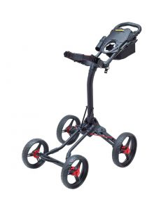 BagBoy Quad XL Push Cart Battleship Grey/Lime