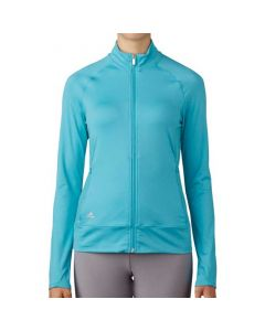 Adidas Women's Rangewear Full-Zip Jacket Aqua Blue