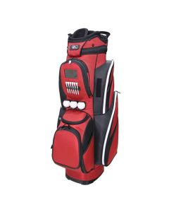 RJ Sports CR-18 Cart Bag Red/Black