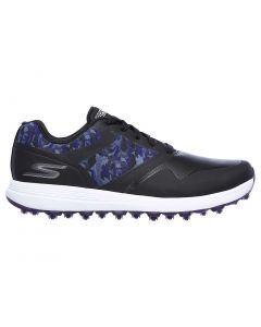 Shoes Skechers Womens Go Golf Max Draw Golf Shoes Black Purple Profile
