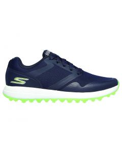 Shoes Skechers Womens Go Golf Max Fade Golf Shoes Navy Green Profile