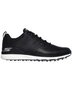 Skechers Go Golf Mojo Punch Shot Golf Shoes Black Silver Profile