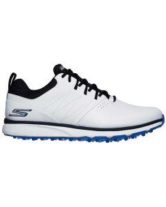 Skechers Go Golf Mojo Punch Shot Golf Shoes White Blue Profile