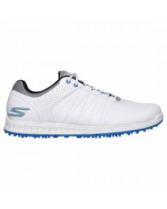 Skechers GO GOLF Pivot Golf Shoes White/Grey/Blue