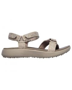 Skechers Women's GO GOLF 600 Golf Sandals Taupe