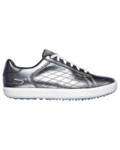 Skechers Women's GO GOLF Drive Shine Golf Shoes Pewter