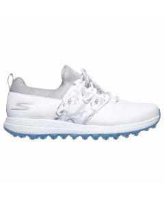 Skechers Women's GO GOLF Max Lag Golf Shoes White/Grey