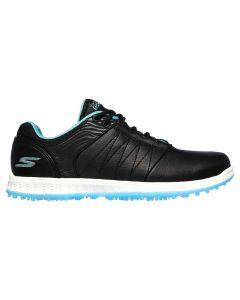 Skechers Women's GO GOLF Pivot Golf Shoes Black/Turquoise