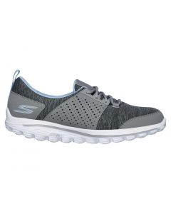 Skechers Women's GOwalk 2 Sugar Golf Shoes Grey/Blue