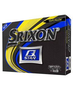 Srixon Q-Star 5 Yellow Golf Balls