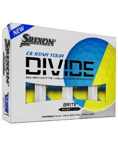 Srixon Q Star Tour Divide Blue Golf Balls Packaging